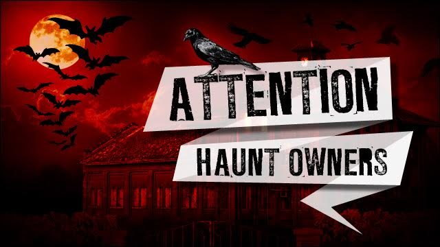 Attention Galveston Haunt Owners